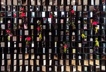 MILLER HARRIS / Covent Garden in Bloom launches in May, and Prop Studios were delighted to be invited by world renowned Perfumery Miller Harris to produce an instore VM scheme and bohemian floral window.