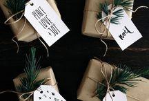 Рождественская упаковка