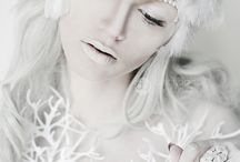 Snowwhite / everything, white, snow, crystal and imaginative.