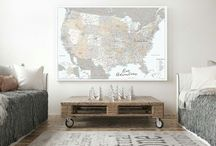 ~ USA Maps ~ Highly detailed maps of the US