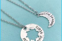 xTc-Jewelry.com | Friendship / Friendship Jewelry Sets. You and your best friends, sisters, brothers can share these jewelry sets. Enjoy showing your friendship to others and be proud. #friendship, #Besties, #sisters