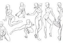 °•♡Draw poses♡•°