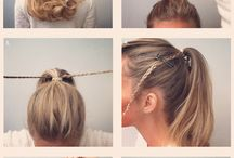 My Work Updos Ideas / I have a job, where i must have my hair clipped away. So i started to think about different options than basic ponytail and bun, because it seems pretty boring after few days. Here they are for inspiration