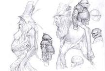 Bocetos de artistas