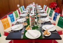 BASF-NASTIC / Comida para premiar a los ganadores de la liga empresa de Futbol de Tarragona. El chub nástic fue el lugar elegido para comunicar los valores de la empresa anfitriona