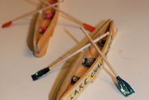 Popsicle stick crafts... / by Tiffany Mendiola:)