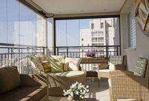 Varandas, terraços e sacadas decoradas e modernas!