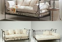 wrought iron daybeds