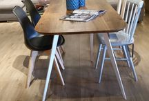 Komplety jadalniane / Stoły, krzesła, zestaw mebli jadalnianych