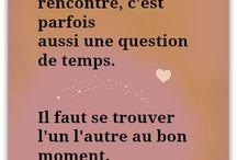Citations/pensées/mots