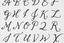 alphabets styles i'd like to use
