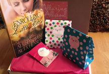 """Alluring Allison Subscription Box / Romantic Erotica subscription box for Alluring Allison. Featuring both boxes """"Lots of Love"""" and """"Little Love"""""""