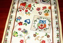 Decorative Table Runner & Table Cloth