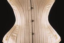 Bustle period corsets