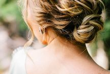 wedding reception updos