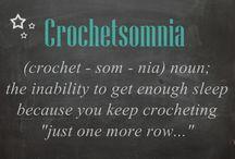 Crocheting humour