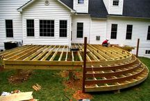 Wood terrace / Fa teraszok