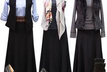 Maxi skirt fall ideas