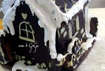 Ricette: Gingerbread / Pan di zenzero / Decorazione  su pan di zenzero.  Gingerbread decorations