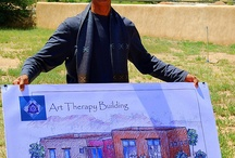 Visual History of the Art Therapy Building... / by Southwestern College Santa Fe