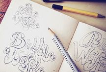 Blue Drop Studio  ⦁ Sketchbook / Our daily adventures with pencil & paper.