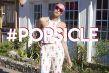 #Popsicle / When It's Hot And You Need A Sweet Cool Treat, Try These Looks On For Size!