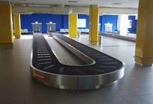 Conveyors for airport // Dopravníky pro letiště / Conveyor systems for departure and arrival // Dopravníkové systémy pro odlet a přílet