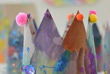 Toddler ideas / sensory play, art, etc.