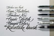 Brush Pen Caligrafia