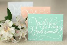 Bridal Party - Yennygrams Inspiration / Ideas for your bridal party - invites, gifts, pictures, etc.