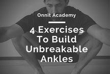 Exercises for  STRONGER ANKLES