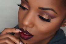 Makeup Ideas On Black