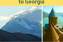 Georgia Travel / Georgia is a country that we can't wait to visit - from Tbilisi to Vardzia and beyond, we are saving the best Georgia Travel Inspiration, Itineraries, Tips and Things to Do on this board.