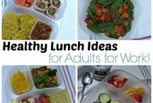 Lunch box / Healthy lunches to take to work.