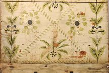 Painting inspiration for future Chalk Paint TM projects, a decorative paint by Annie Sloan.