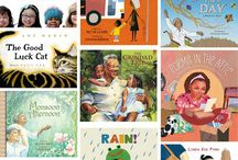 Diverse Children's Books / Children's books featuring characters form a diverse background.