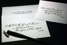 ~Envelope Addressing by Me~ / ~~~All calligraphy done by hand with a dip pen by Lynda at Write Away For You~~~ writeawayforyou.com