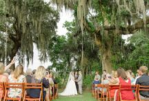 Wedding Ceremony / Sweet moments and wedding venue inspiration from Charleston, SC weddings