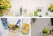 Confetti Bar/ Sweet Cart/ ice cream bike / Ideas