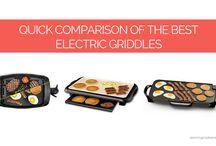 Quick Comparison of Electric Griddles