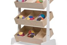 Storage + Shelves