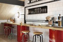 Workplace decor : Coffee bars