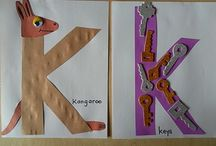 """Letter """"K"""" Crafts / by Vicky Engdahl"""
