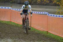 2ème manche de la Coupe de France de cyclo-cross à Sisteron / Thomas MONTOIS (Avenir Cycliste Touraine) à la 2ème manche de la Coupe de France de cyclo-cross à Sisteron.