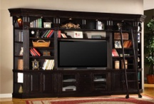 Wall Units/Entertainment Centers/Bars + Office furniture