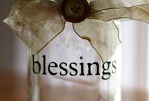 Thankful jars