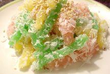Vietnamese desserts / Banh tam