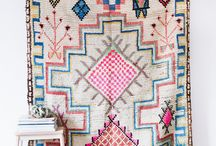 Rugs, textiles