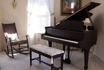 Refinished Baby Grand Pianos