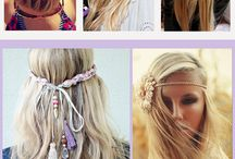 Boho Hair Styles / Hair Styles that we love to go with Steel Pony Clothing